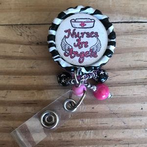 Jewelry - NWOT Badge Holder Nurse